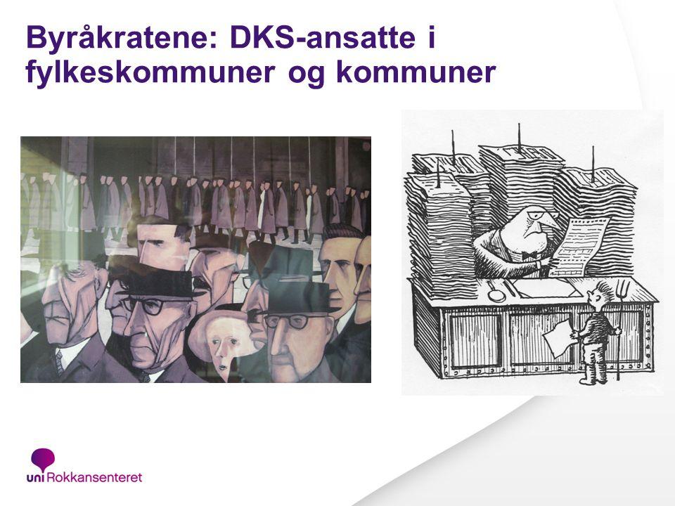 Byråkratene: DKS-ansatte i fylkeskommuner og kommuner
