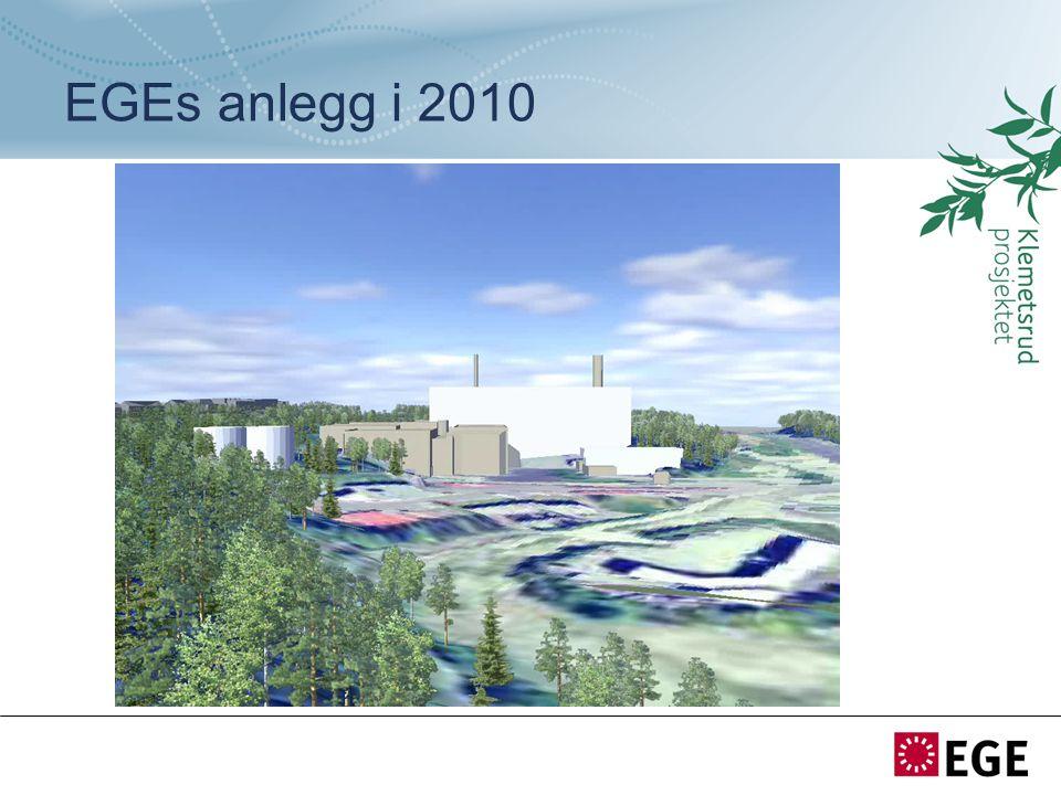 EGEs anlegg i 2010