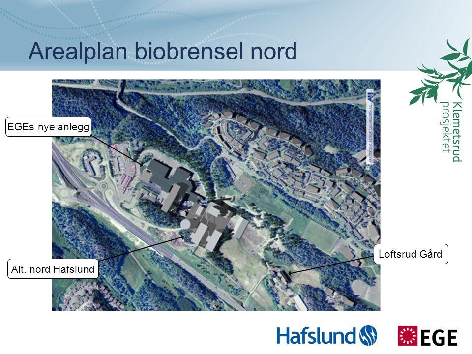 Arealplan biobrensel nord