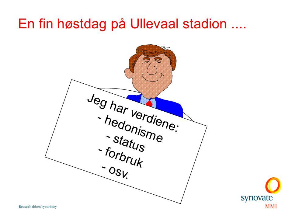 En fin høstdag på Ullevaal stadion ....