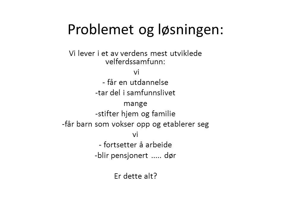 Problemet og løsningen: