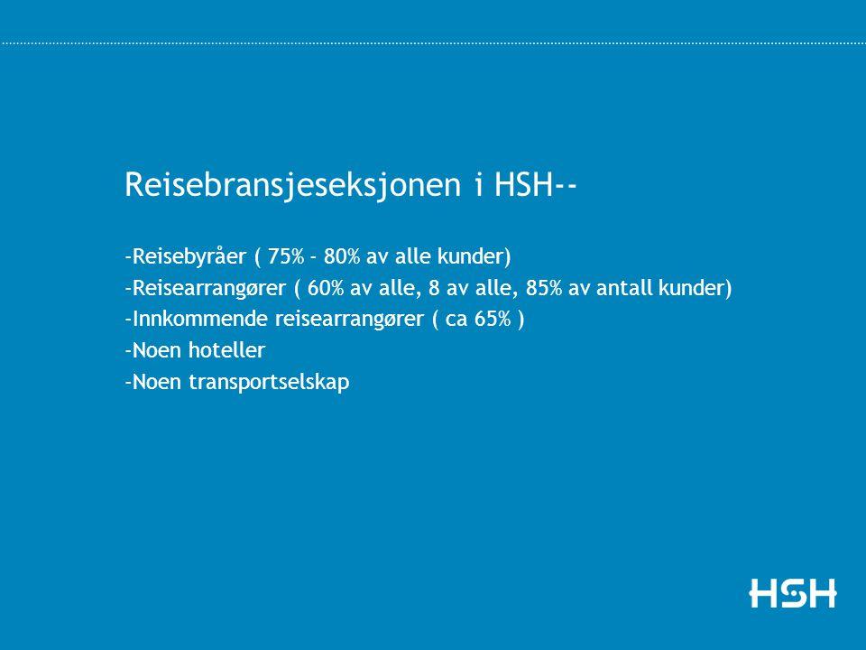 Reisebransjeseksjonen i HSH--