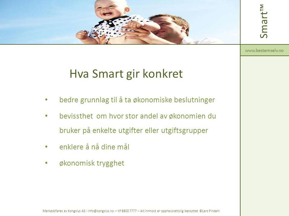 Hva Smart gir konkret Smart™