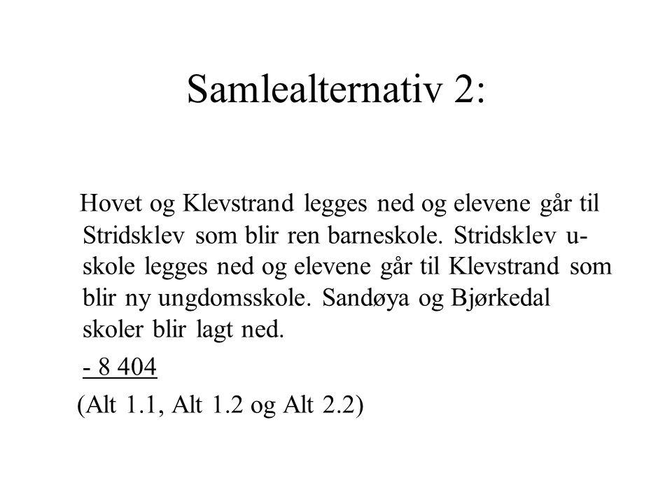 Samlealternativ 2: