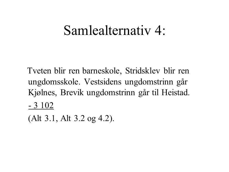 Samlealternativ 4: