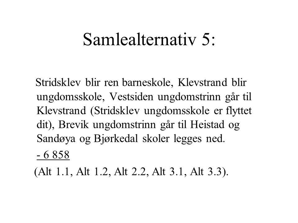 Samlealternativ 5: