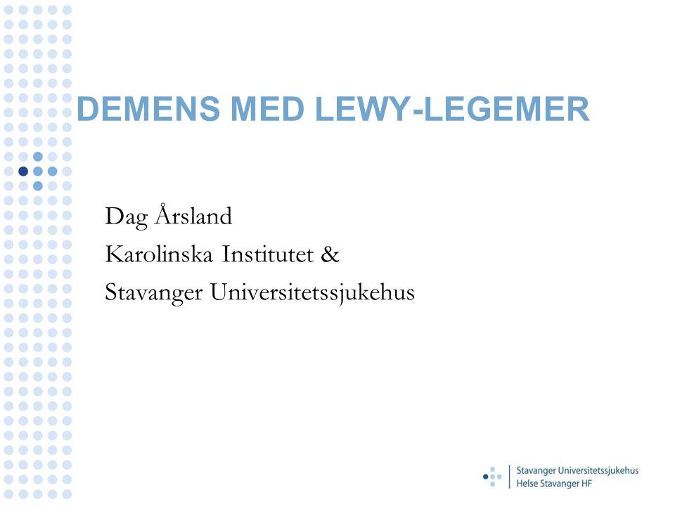 DEMENS MED LEWY-LEGEMER