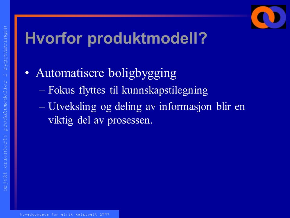 Hvorfor produktmodell