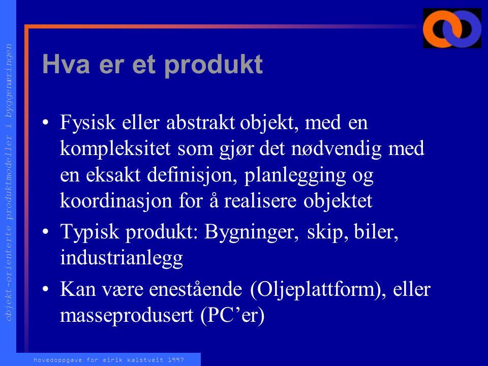 Hva er et produkt