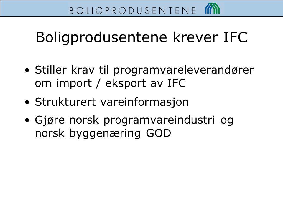 Boligprodusentene krever IFC