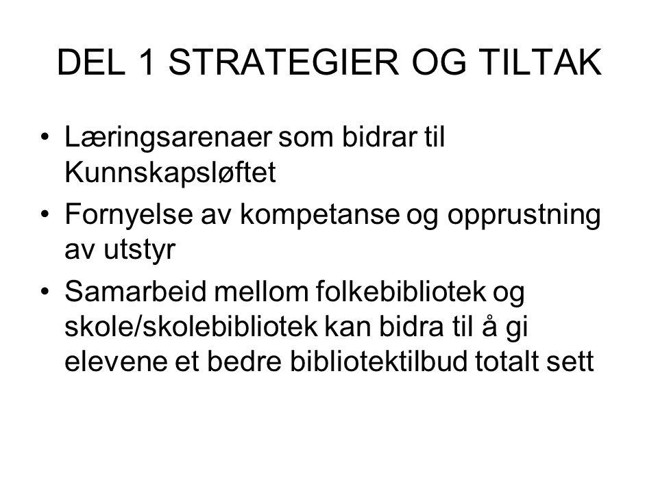 DEL 1 STRATEGIER OG TILTAK