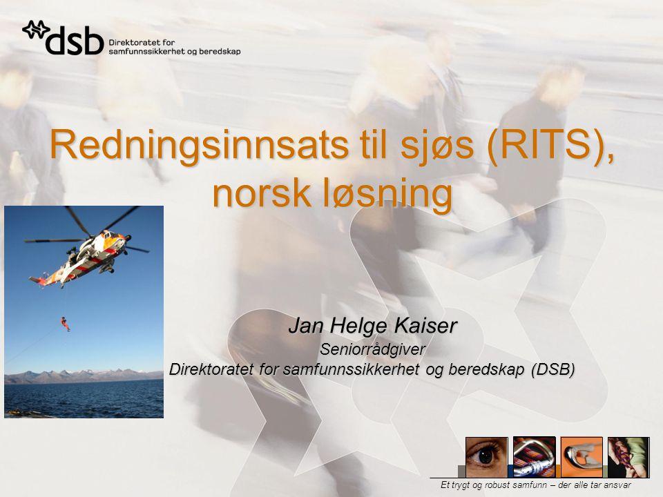 Redningsinnsats til sjøs (RITS), norsk løsning