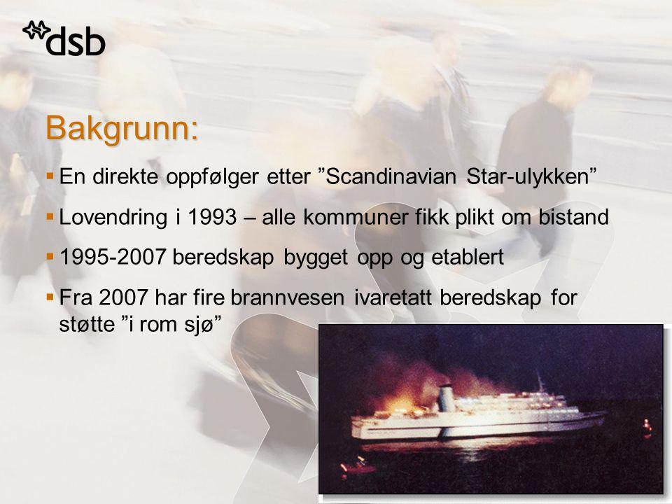 Bakgrunn: En direkte oppfølger etter Scandinavian Star-ulykken
