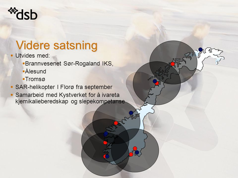 Videre satsning Utvides med: Brannvesenet Sør-Rogaland IKS, Ålesund