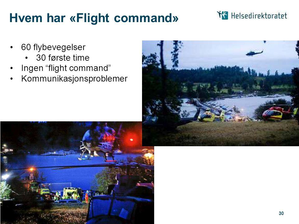 Hvem har «Flight command»