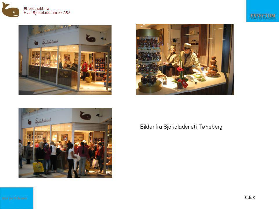 Bilder fra Sjokoladeriet i Tønsberg
