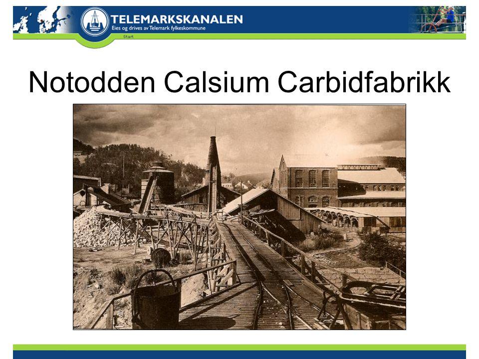 Notodden Calsium Carbidfabrikk