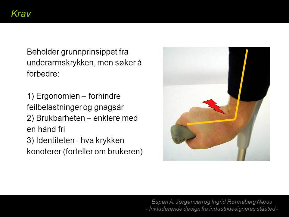 Jobbet med redesign av isbrodder Her er resultatet – et skosmykke