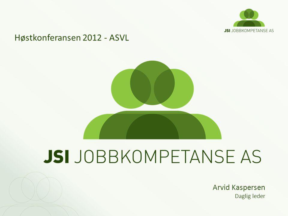 Høstkonferansen 2012 - ASVL