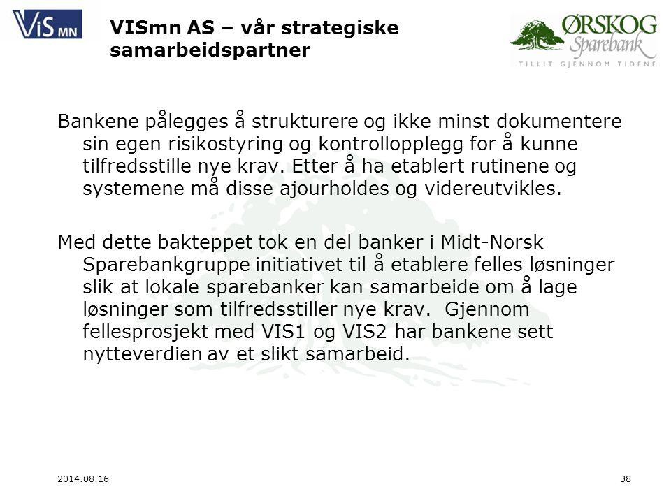 VISmn AS – vår strategiske samarbeidspartner