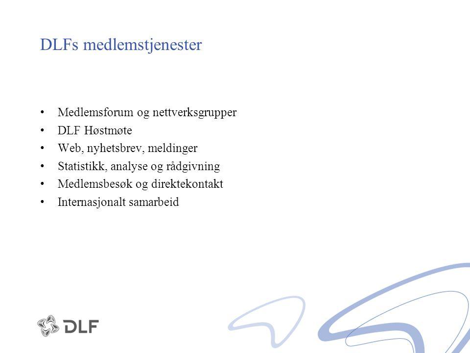 DLFs medlemstjenester