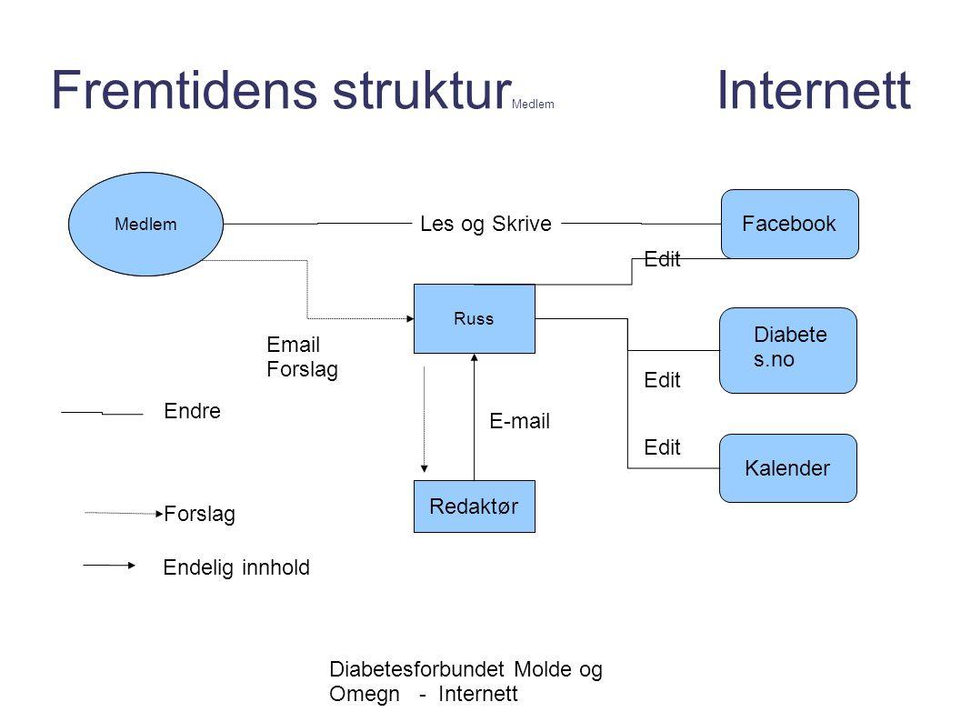 Fremtidens strukturMedlem Internett