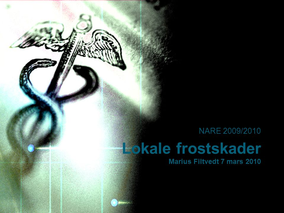 Lokale frostskader Marius Filtvedt 7 mars 2010