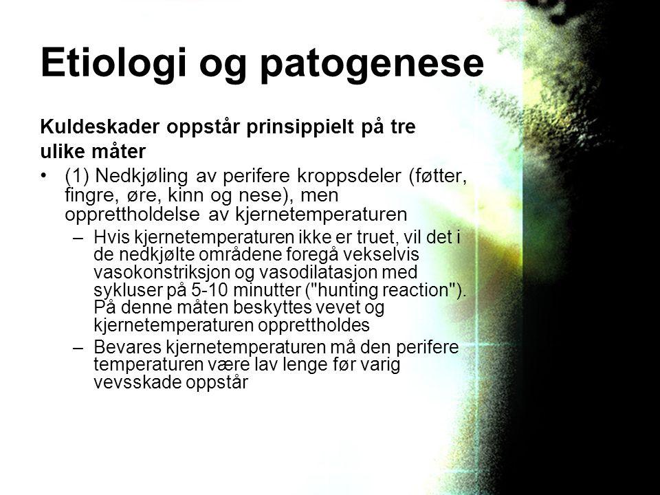 Etiologi og patogenese