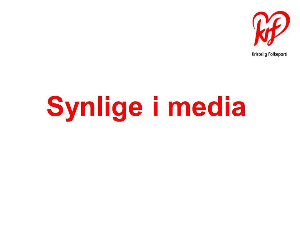 Synlige i media