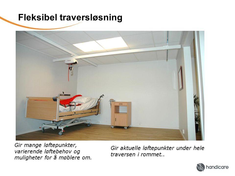 Fleksibel traversløsning