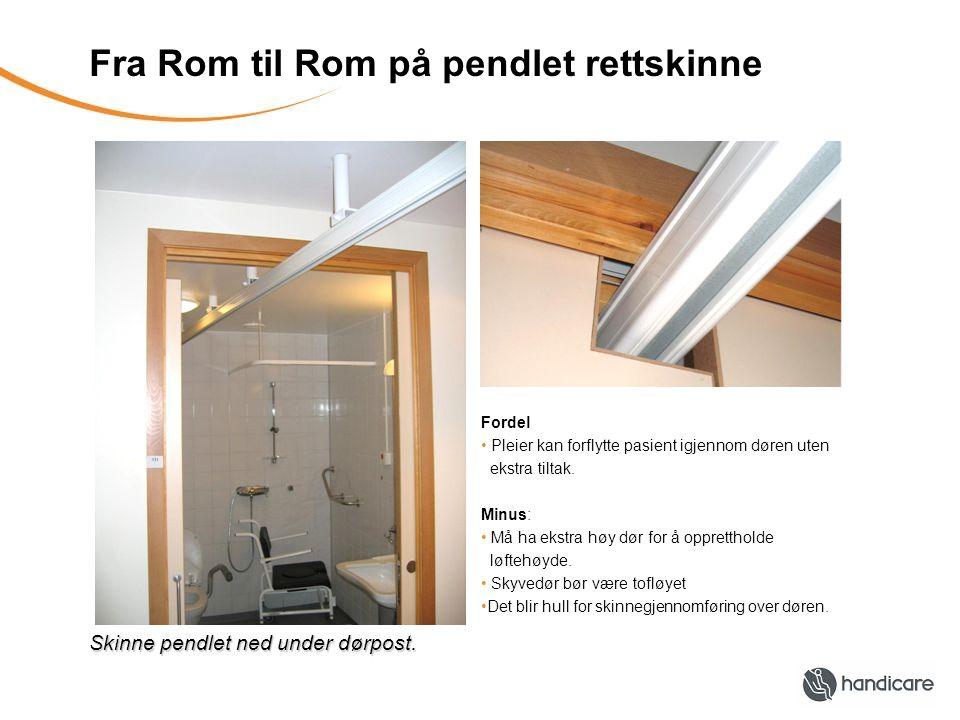 Fra Rom til Rom på pendlet rettskinne