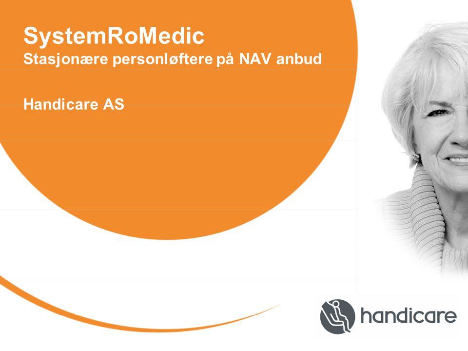 SystemRoMedic Stasjonære personløftere på NAV anbud