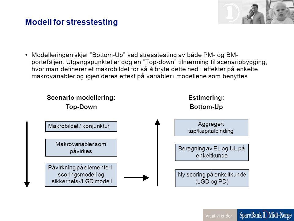 Modell for stresstesting