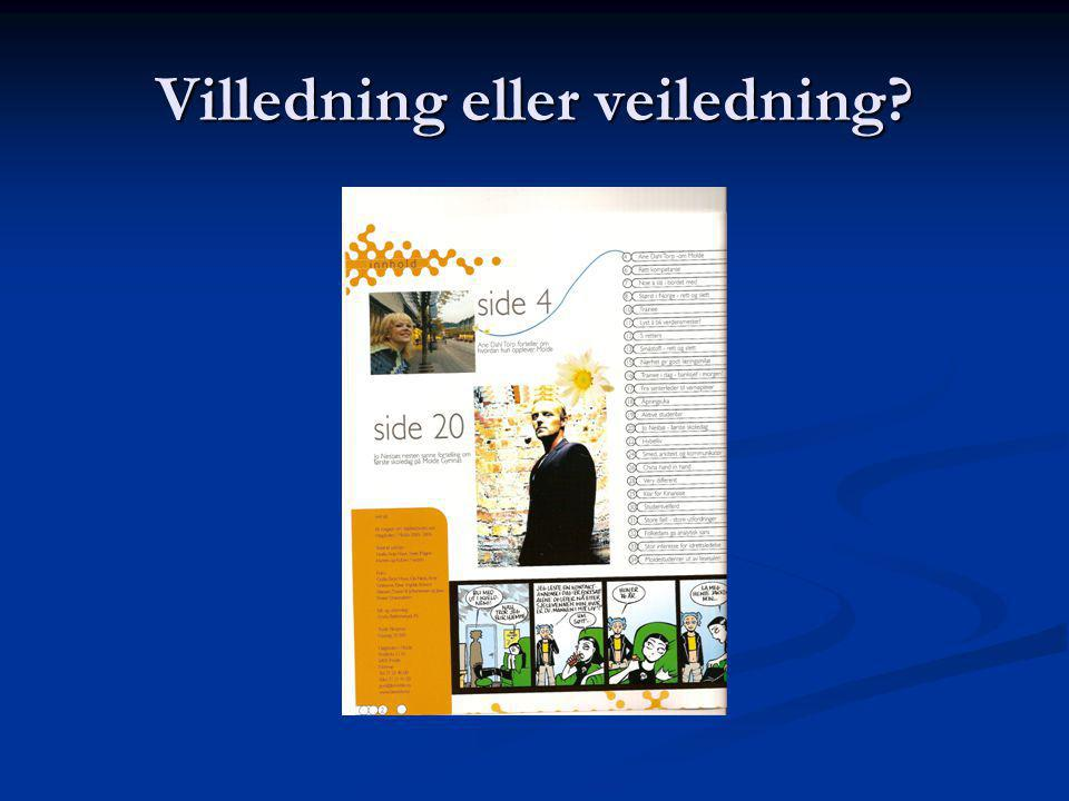Villedning eller veiledning