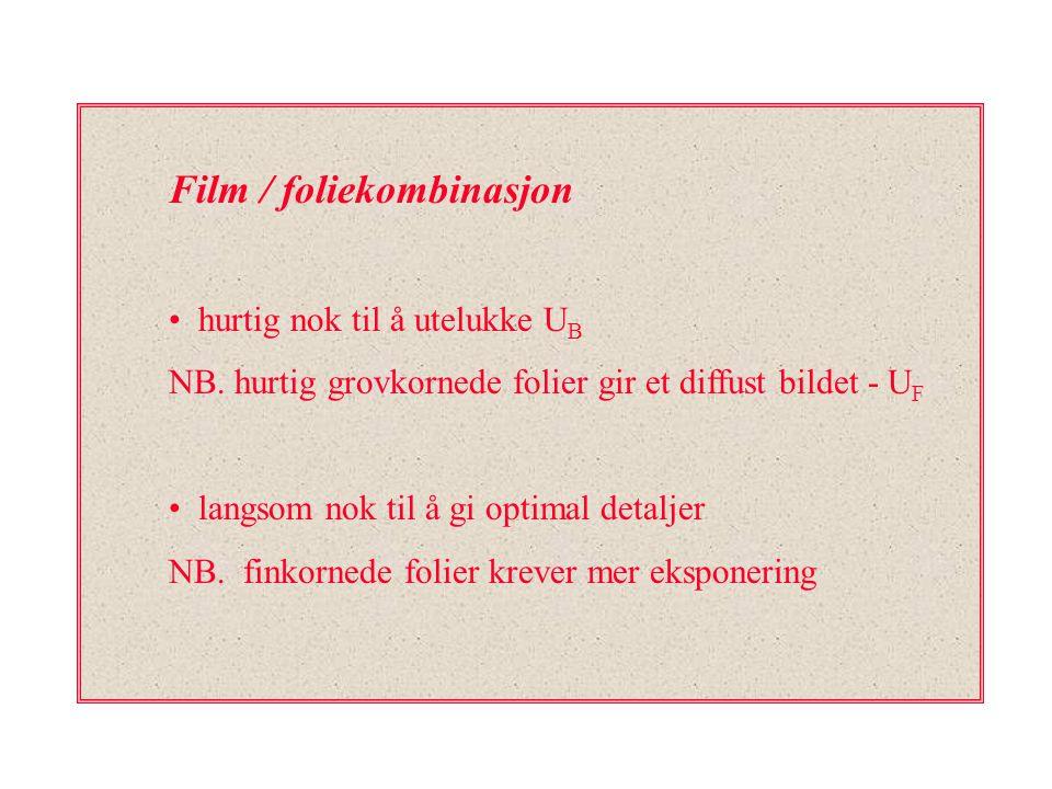 Film / foliekombinasjon
