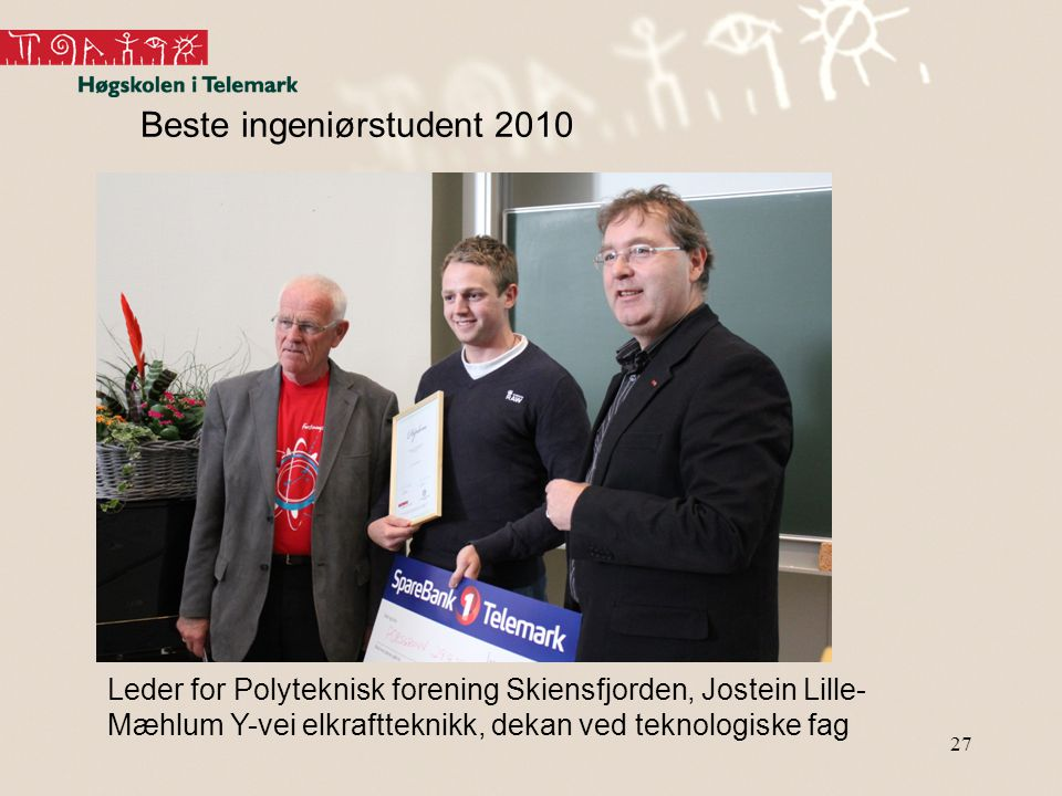 Beste ingeniørstudent 2010