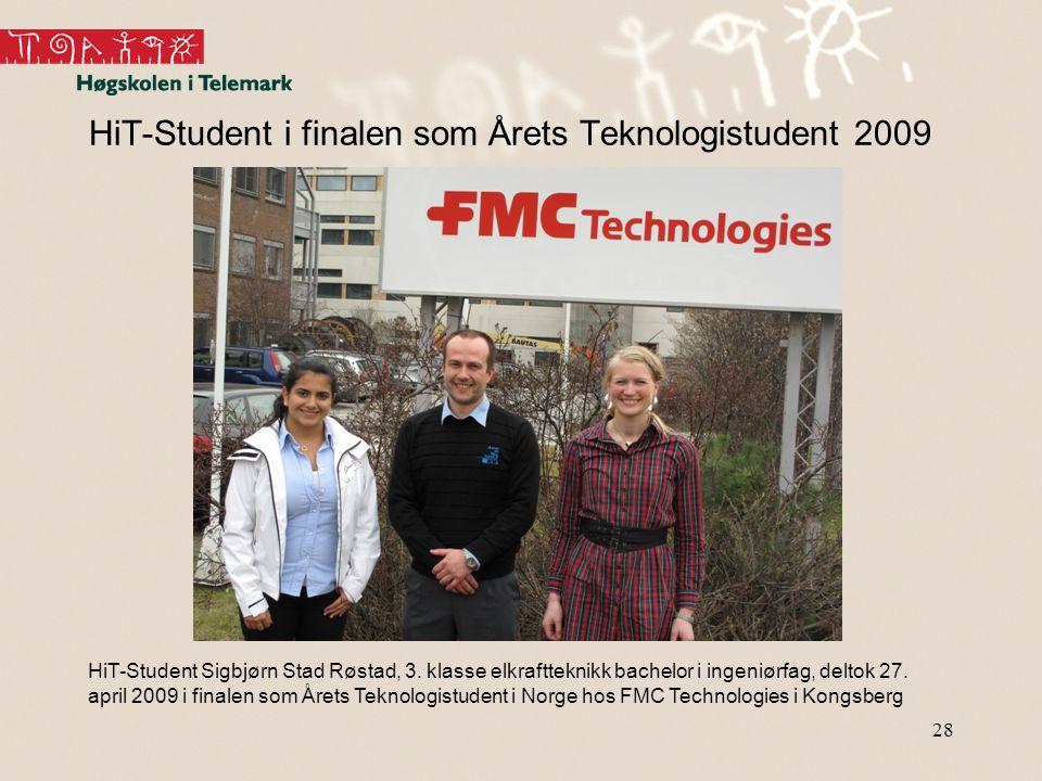 HiT-Student i finalen som Årets Teknologistudent 2009
