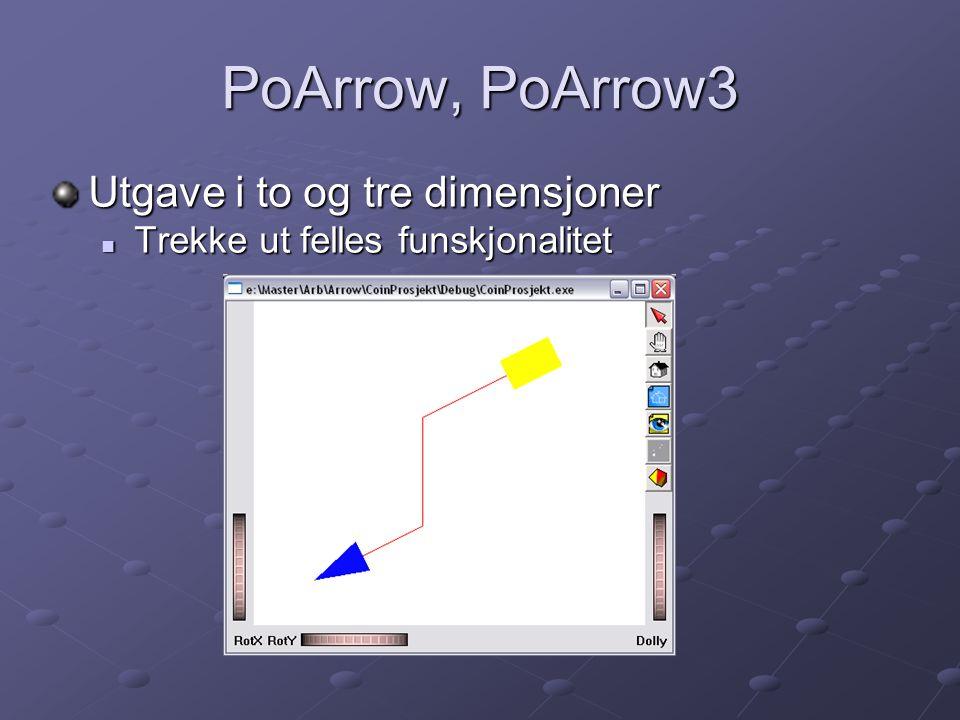 PoArrow, PoArrow3 Utgave i to og tre dimensjoner