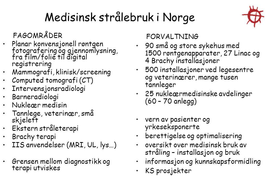 Medisinsk strålebruk i Norge