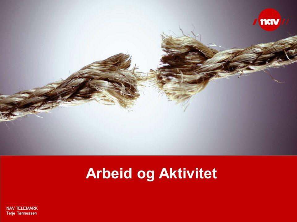 Arbeid og Aktivitet NAV TELEMARK Terje Tønnessen