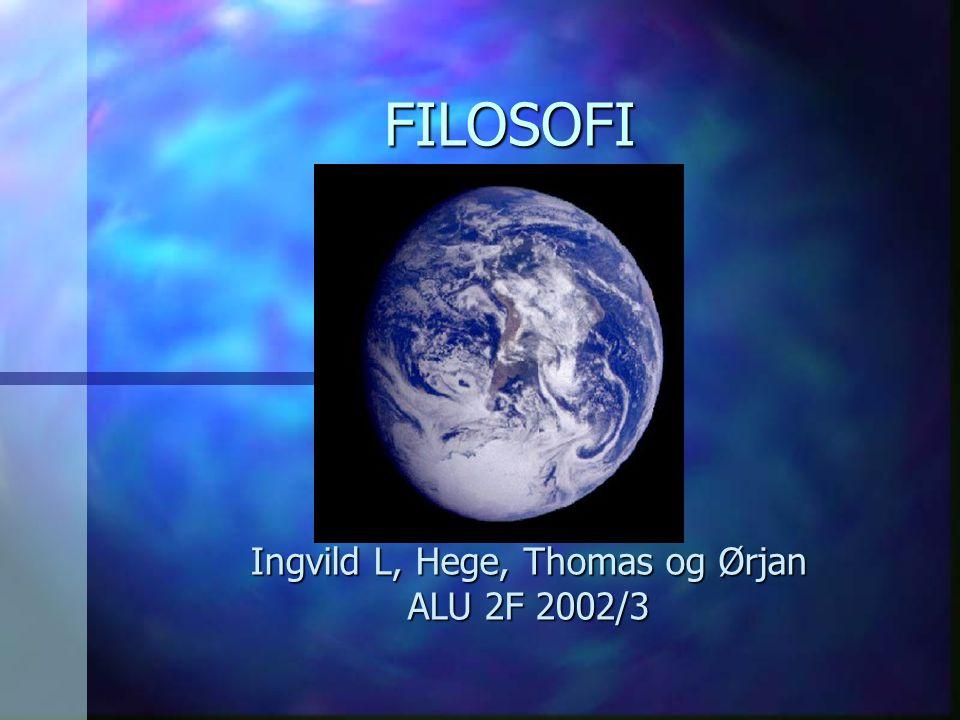 Ingvild L, Hege, Thomas og Ørjan ALU 2F 2002/3