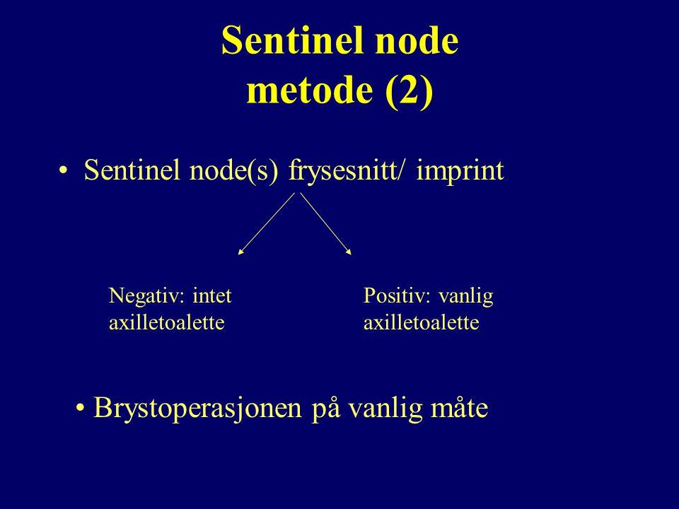Sentinel node metode (2)