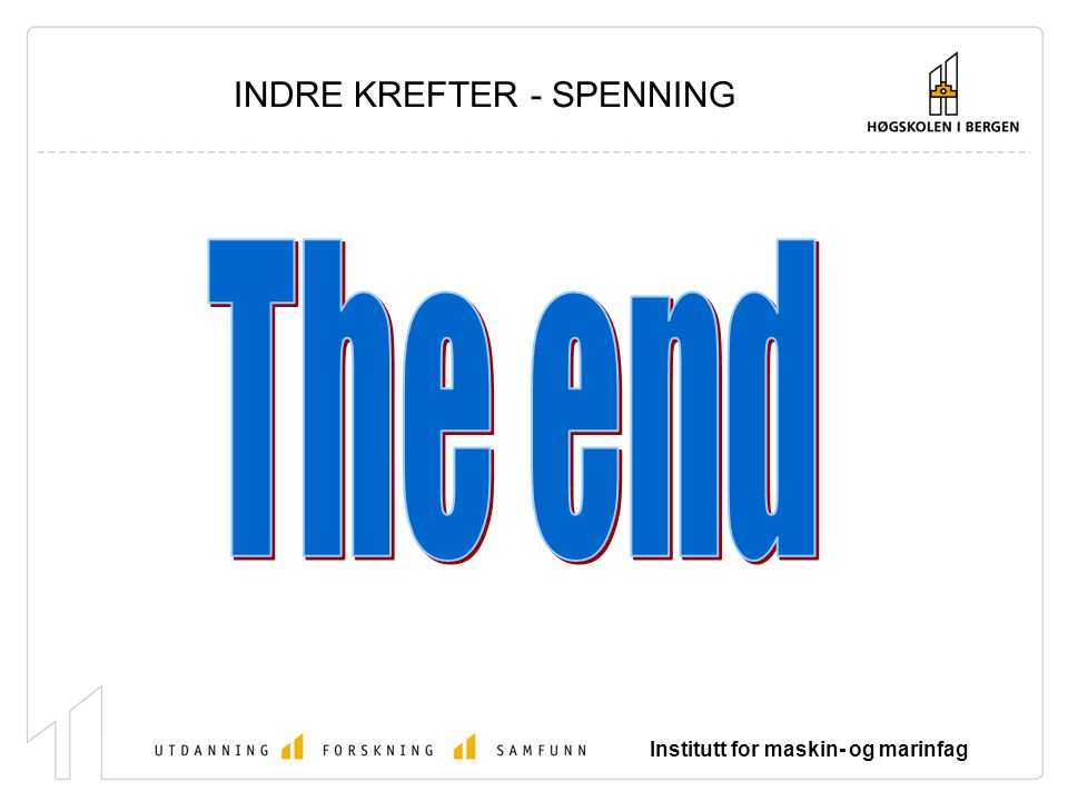 INDRE KREFTER - SPENNING