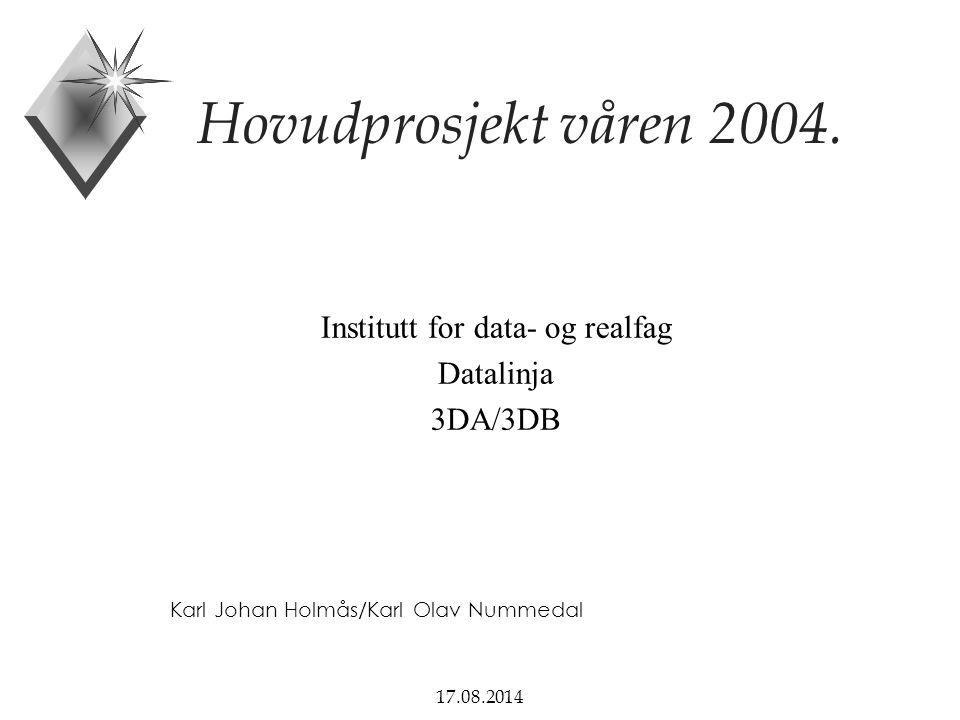 Institutt for data- og realfag