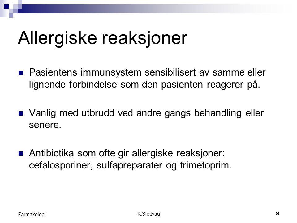 Allergiske reaksjoner