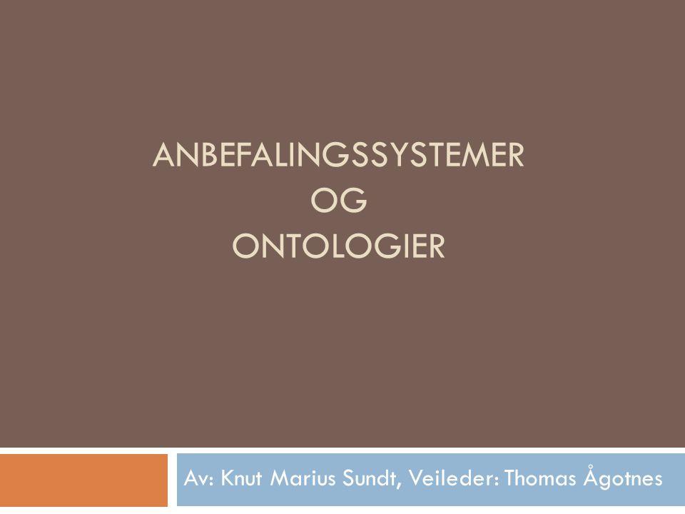 Anbefalingssystemer og Ontologier