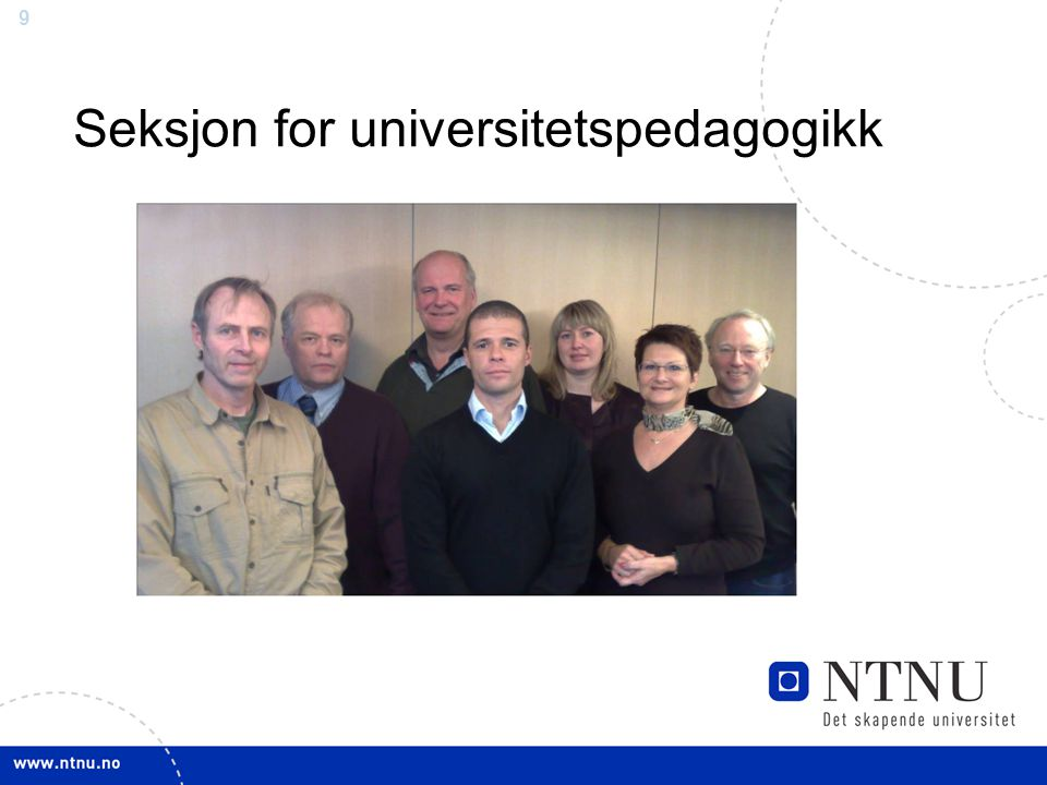 Seksjon for universitetspedagogikk