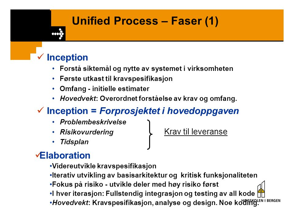 Unified Process – Faser (1)
