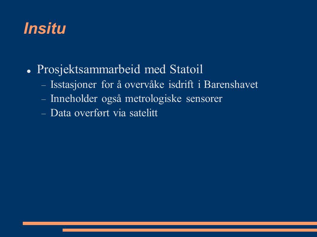 Insitu Prosjektsammarbeid med Statoil
