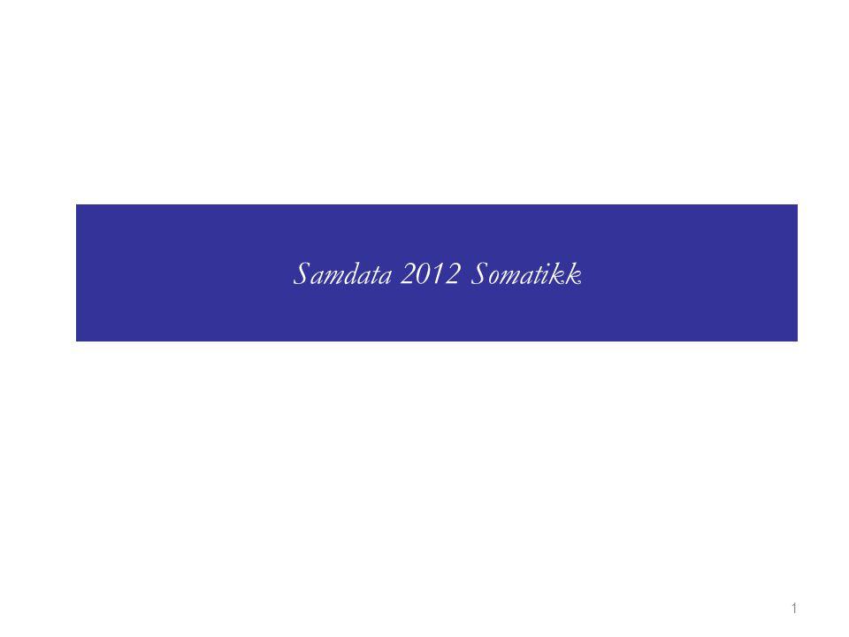 Samdata 2012 Somatikk